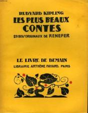 Les Plus Beaux Contes. 29 Bois Originaux De Renefer. Le Livre De Demain N° 187. - Couverture - Format classique