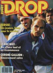 Rugby Drop International N°36 - Ecosse : Les Jeunes, Bons Pour Le Service - Couverture - Format classique