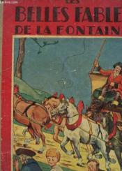 Les Belles Fables De La Fontaine - Couverture - Format classique