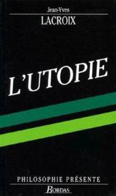 L'Utopie - Couverture - Format classique