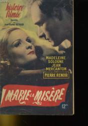 Histoire Filmee - Marie La Misere - Couverture - Format classique