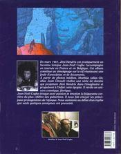 Jimi Hendrix ; émotions électriques - 4ème de couverture - Format classique