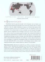 Les Charpentiers De La Pierre - 4ème de couverture - Format classique