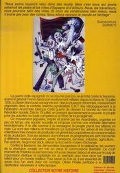 Un dimanche de la vie ; la révolution espagnole 1936-1939 - 4ème de couverture - Format classique