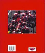 Ferrari Formula 1 - 4ème de couverture - Format classique