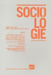 Revue Sociologie N.2010/4 - Couverture - Format classique