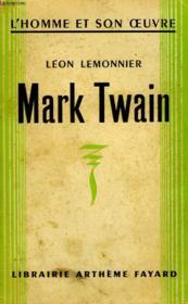 Mark Twain. - Couverture - Format classique