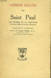 Vaerbum Salutis Viii. Saint Paul. Les Epitres De La Captivite - Couverture - Format classique