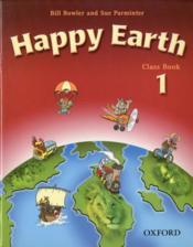 Happy earth class book 1 - Couverture - Format classique
