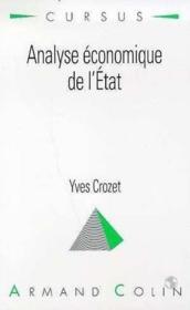 Analyse economique de l'etat - Couverture - Format classique