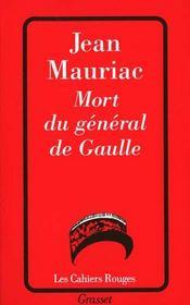 Mort du général de Gaulle - Intérieur - Format classique