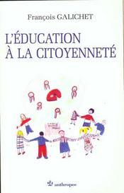 Education a la citoyennete - Intérieur - Format classique