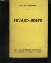 François-Joseph - Couverture - Format classique