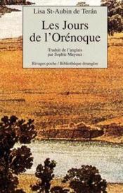 Les Jours De L'Orenoque - Couverture - Format classique