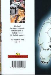 Shaman King T11 - 4ème de couverture - Format classique