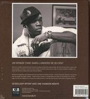 50 x 50 ; 50 cent, le livre officiel - 4ème de couverture - Format classique