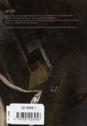 Ilegenes t.4 - 4ème de couverture - Format classique