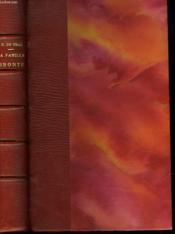 La Famille Brontë - Couverture - Format classique