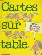 Cartes Sur Table 1 - Couverture - Format classique