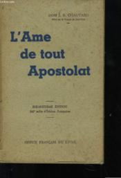 L'Ame De Tout Apostolat - Couverture - Format classique