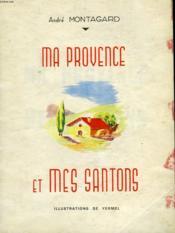 Ma Provence Et Mes Santons - Couverture - Format classique