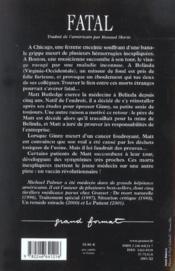 Fatal - Couverture - Format classique