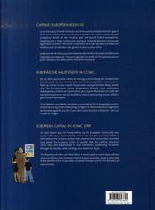 Les capitales européennes en bd - 4ème de couverture - Format classique