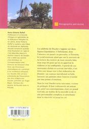 Aphonse Daudet - 4ème de couverture - Format classique