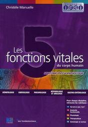 Les 5 fonctions vitales du corps humain - Intérieur - Format classique