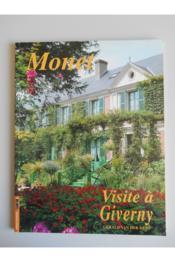 Monet, visite a giverny - Couverture - Format classique