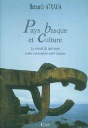 Pays Basque Et Culture De B. Atxaga Pref. A. Gabastou - Couverture - Format classique