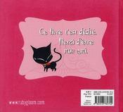 Ruby Gloom t.2 ; guide de l'amitié - 4ème de couverture - Format classique
