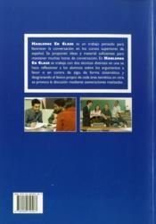 Hablemos En Clase - 4ème de couverture - Format classique
