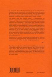 Études sur Francis Bacon - 4ème de couverture - Format classique