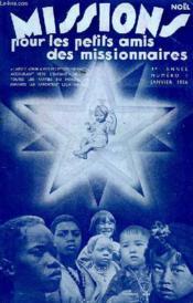 MISSIONS POUR LES PETITS AMIS DES MISSIONNAIRES, 4e ANNEE, N° 1, JAN. 1936 - Couverture - Format classique