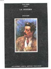 Le Boheme - Puccini - Couverture - Format classique