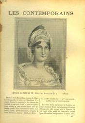 LES CONTEMPORAINS N°423. LETIZIA RAMOLINO BONAPARTE, MERE DE NAPOLEON Ier (...-1836) - Couverture - Format classique