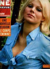 Cine Revue - Tele-Programmes - 47e Annee - N° 33 - The Busy Body ( Le Mele-Tout ) - Couverture - Format classique