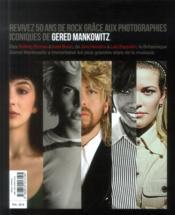 50 ans de rock photographies de Gered Malkowitz - 4ème de couverture - Format classique