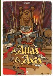 La saga d'Atlas & d'Axis T.3 - Couverture - Format classique