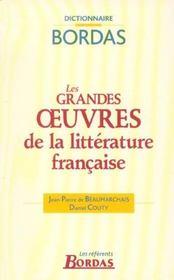 Les grandes oeuvres de la littérature française - Intérieur - Format classique