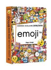 Agenda scolaire ; emoji (édition 2018/2019) - Couverture - Format classique