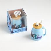 Une petite pause au chat bar - Couverture - Format classique