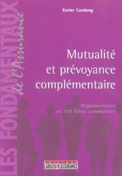 Mutualite Et Prevoyance Complementaire - Intérieur - Format classique