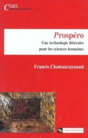 Prospero - Couverture - Format classique