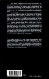 La transhumance des arabes missirié ; et les batailles interminables d'Oum Hadjer de 1947 - 4ème de couverture - Format classique