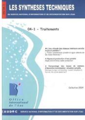 Traitement (les synthèses techniques du service national d'information sur d'eau) - Couverture - Format classique