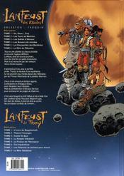 Lanfeust des étoiles T.6 ; le râle du flibustier - 4ème de couverture - Format classique