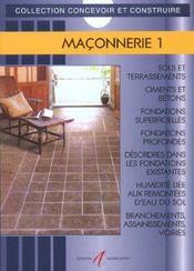 Maconnerie 1 T1 - Intérieur - Format classique