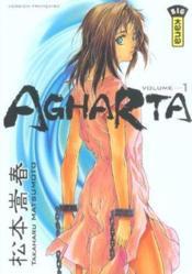 Agharta t.1 - Couverture - Format classique
